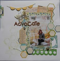 Page made with Papermaze crop kit for Feb 2013