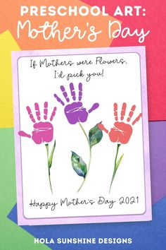 Mothers Day Crafts Preschool, Mothers Day Cards Craft, Easy Mother's Day Crafts, Preschool Gifts, Daycare Crafts, Classroom Crafts, Fathers Day Crafts, Preschool Art, Toddler Crafts