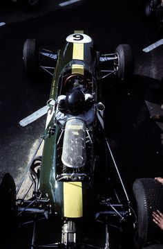 Jim Clark at the 1965 Dutch Grand Prix