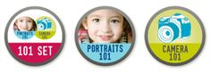 Enter to win a free 101 Set from Mom and Pop Photo School - teaches the basics of using your DSLR & how to get the perfect portrait (1/20-1/24) | TheMombot.com
