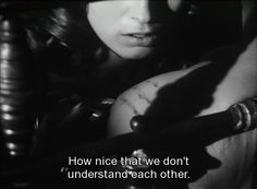 Tystnaden (Silence), Ingmar Bergman, 1963