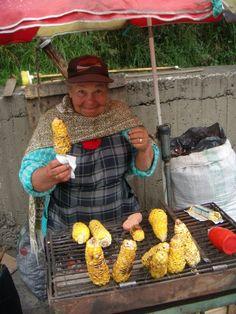 Colombia - so sweet saleswoman! Her smile is awsome!  Photo by prof. Grzegorz W. Kolodko
