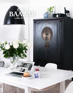 Antikt brudskåp A-65 Svart - hitta fler på www.baazar.se - cabinet chinese china oriental kina baazar bazar bazaar möbel furniture
