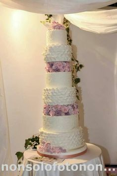 Eden wedding cake
