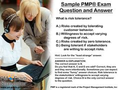 This #PMP exam sample question is taken from The Free PM Exam Simulator