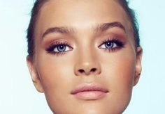 Tips For Daytime Makeup -- loveee her eye and face makeup!