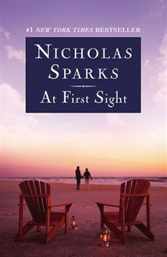 At First Sight : Nicholas Sparks Nicholas Sparks had to write this one because no one dies in the first part. I accidentally read this one before True Believer. I Love Books, Great Books, Books To Read, My Books, Music Books, Nicholas Sparks Movies, Fiction, Reading Material, What To Read