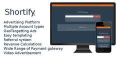 Shortify Unique Advertising Platform