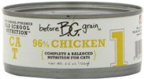Merrick Before Grain #1 Chicken Paté Style Cat Food, 5.5 Ounce Can (24 Count Case)