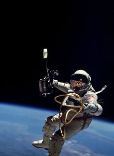 Gemini 4 mission on June 3, 1965, Ed White became the first American to conduct a spacewalk.