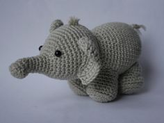 Olivier the Olifant  I found this little crocheted lovely on a Dutch blog called Mennie's Shop. The free pattern can be found here however (but needs to be translated from the Dutch as well).