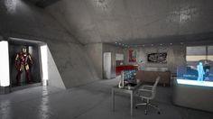 Tony Stark's Garage