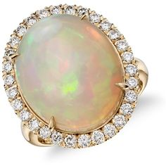 Blue Nile Opal and Diamond Halo Split Shank Ring ($5,600) ❤ liked on Polyvore featuring jewelry, rings, accessories, anelli, blue nile rings, blue nile, 18k jewelry, blue nile jewelry and 18 karat gold jewelry