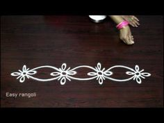 creative and easy rangoli side designs Rangoli Side Designs, Easy Rangoli Designs Diwali, Rangoli Borders, Free Hand Rangoli Design, Small Rangoli Design, Rangoli Patterns, Rangoli Ideas, Rangoli Designs With Dots, Rangoli Designs Images