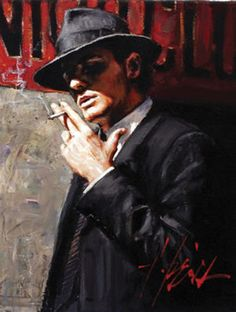 One of my favorite artists...Fabian Perez