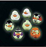 Two Dozen (24) Mini Glow-in-the-dark Halloween Rubber Ducks Duckie Ducky - http://tonysgifts.net/two-dozen-24-mini-glow-in-the-dark-halloween-rubber-ducks-duckie-ducky-2/
