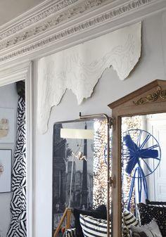 Sacha Walckhoff's Paris #apartment #homedesign. Creative Director at Christian #Lacroix.