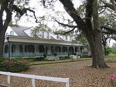 Myrtles Plantation, Louisiana - reportedly haunted by a slave known as Chloe. Chloe was put to death by the other slaves after she intentionally or unintentionally killed at least some members of her master's family with oleander leaves put in a cake.