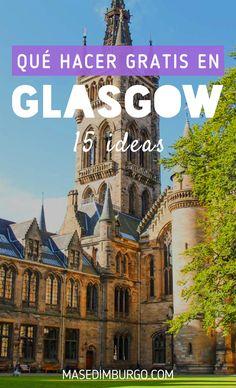 15 ideas para visitar #Glasgow que no te costarán ni una libra: museos, tours, rutas... Tardis, Outlander, Lago Ness, Alba, Barcelona Cathedral, Tours, Mansions, House Styles, Travel