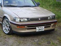 Covered AE92 Sedan 4-door Std (AE91), DX (AE94), LE (AE97) AE92 Coupé 2-door SR5 (AE96), GT-S (AE98 - Trueno AE94 FWD wagon 5-door DX (AE94) AE95 4WD sedan 4-door All-Trac/4wd (AE94) AE95 FWD/4WD wagon 5-door Std, DX, All-Trac years: 1987-19...