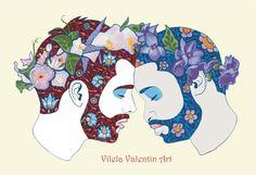 LOVE – Vilela Valentin http://www.redbubble.com/people/vilelavalentin/works/21287788-love?ref=recent-owner http://vilelavalentin.weebly.com/love-and-cloacutevis-the-cat.html