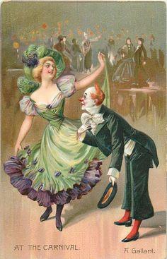"""Cartoline """"Vintage"""" D000437dedbd7161d8bcf052b0a2dcb1--clown-mask-vintage-images"""