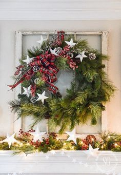 Keeping It Simple: Evergreen Wreaths | Centsational Style