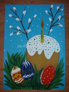 Christmas Canvas, Christmas Art, Christmas Ornaments, Art Activities For Kids, Easter Activities, School Art Projects, Art School, Diy For Kids, Crafts For Kids