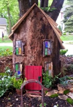 55 astonishing fairy garden stump design ideas you must have it fairy garden housesfairies - Gnome House S Design