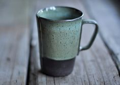 Rustic Handbuilt Mugs  Available in 5 Colors by JustWork on Etsy, $20.00