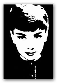 Pop art painting black and white faces 26 ideas Black And White Canvas, Black And White Drawing, White Art, Modern Canvas Art, Canvas Art Prints, Audrey Hepburn Kunst, Shadow Photos, Pop Art Portraits, Tinta China