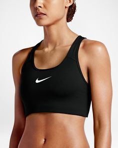 8b4dc51a86 Nike Classic Swoosh Women s Medium Support Sports Bra Peak Performance