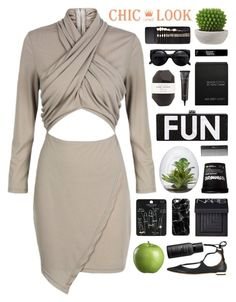 """""""CHIC LOOK CLOSET"""" by novalikarida ❤ liked on Polyvore featuring Crate and Barrel, Elite, Topshop, Sephora Collection, Casetify, NARS Cosmetics, Living Proof, Ex Voto Paris, Julep and Laura Geller"""