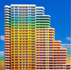 Sometimes, it takes an outsider to help one see the beauty there is in the city that you live in. Just check out these photos of Yener Torun that features beguilingly vibrant snapshots of buildings tucked away in Istanbul, Turkey. #color #travel #world #exterior #colorful #city #Turkey