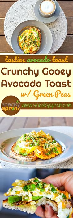 A delicious avocado toast with green peas that is both crunchy and gooey holds the secrets to making the most delicious avocado toast imaginable. Learn how to make it with this recipe!