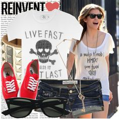 """""""steal annalynne mccord's style."""" by carolineeexo on Polyvore"""