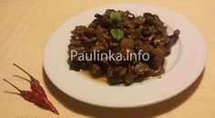 #Shanghai style #Eggplant / #Aubergine #recipe  - #Slovak cuisine - #Slovakia Slovak Recipes, My Recipes, Aubergine Recipe, Rapeseed Oil, Shanghai, Eggplant, Beef, Food, Style