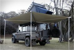 Land Rover Defender Icarus is the ultimate camper conversion built by South African company Alu-Cab. Jeremy Bergh and his team at Alu-Cab wanted to build the ultimate overlander, and we must agree, the Icarus Defender is undoubtedly a very impressive