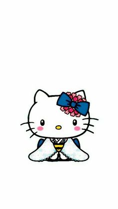 Sanrio Characters, Fictional Characters, Hello Kitty Images, Snoopy, Kimono, Chinese, Friends, Parties, Wallpapers