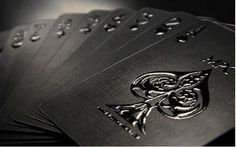 Make Playing Cards, Cover Design, Online Printing Companies, Printing Services, Spot Uv, Ace Of Spades, Black And White Aesthetic, Character Aesthetic, Deck Of Cards