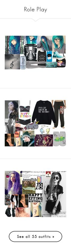 """""""Role Play"""" by nerdy-emo-girl ❤ liked on Polyvore featuring Hot Topic, Converse, J Brand, Charlotte Russe, Forever 21, Burton, ASOS, Demonia, Zippo and Samsung"""