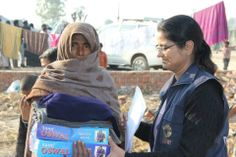 Muzaffar Nagar #Riots: CARE India provided relief material under its #disaster preparedness and response programme.