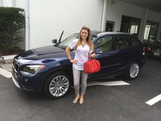 Congratulations to Gabrielle O. on her new 2014 BMW X1! Kathleen and the entire Reeves BMW team are happy to welcome the newest member to our #ReevesTampaFamily!