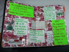 Sequence and Series foldable