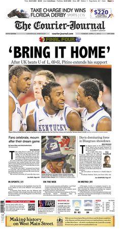 Louisville Courier-Journal -- Louisville, KY  4/1/2012