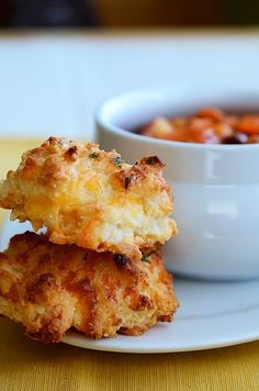Cheddar Bay Biscuits schitzee - check out my blog -