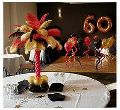 60th birthday party idea
