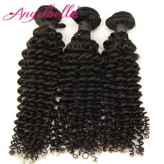 Angelbella Fashion Hair Weave Afro Kinky Curly Hair No Tangle 300G Lot Malaysian Kinky Curly Virgin Natural Hair Extensions  //Price: $US $99.00 & FREE Shipping //     #fashion #women #wig #wigs #hair #blond #darkhair #beauty #style