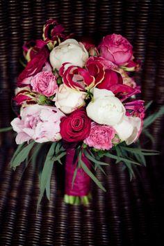 nog zo'n mooie combinatie van rozen en pioenrozen