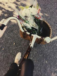 Saturday flower run.
